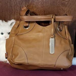 Tignanello light brown hobo bag